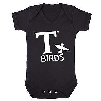 T birds babygrow