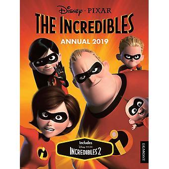 Disney Pixar The Incredibles Annual 2019
