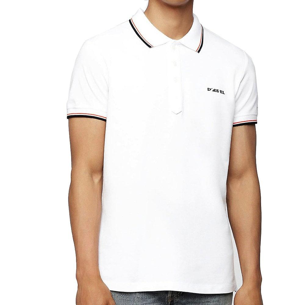 Diesel T Randy Broken Tipped Collar Polo Shirt