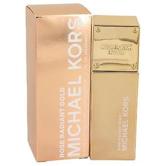 Michael kors roos stralend goud eau de parfum spray door Michael Kors 535017 50 ml