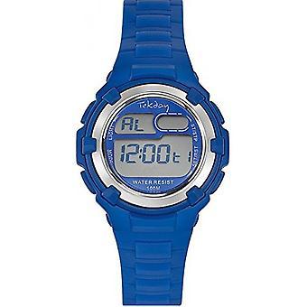 Watch TEKDAY 653798 - mixed blue round
