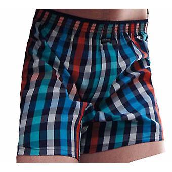 Jockey Mens Palm Island Boxer Short Plaid Check Underwear
