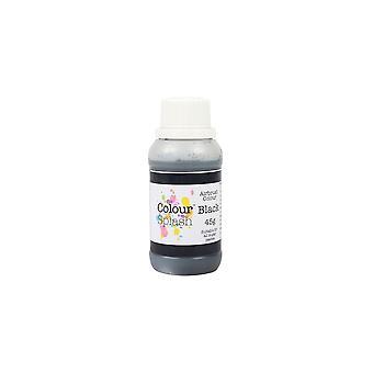 Färg stänk airbrush färger-svart
