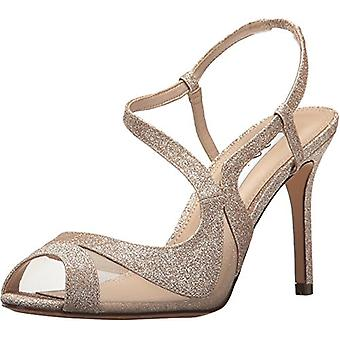 Nina Womens Regina Peep Toe Special Occasion Mule Sandals