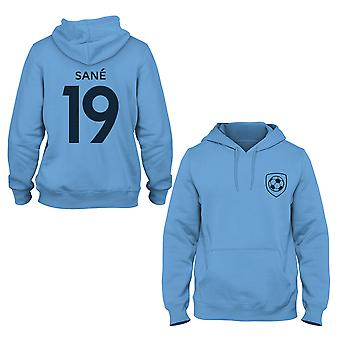 Leroy Sane 19 Manchester City Style Player Hoodie