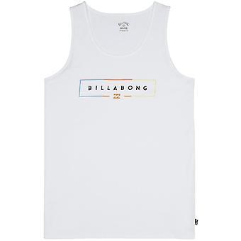Billabong eenheid mouwloos T-shirt in wit