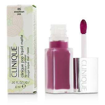 Pop Liquid Matte Lip Colour + Primer - # 05 Sweetheart Pop 6ml/0.2oz