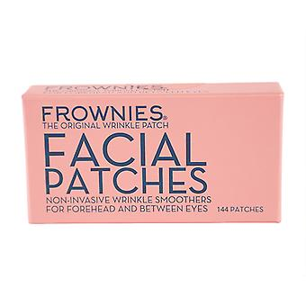 Frownies Facial Patches (For panden & mellem øjne) 144 Patches