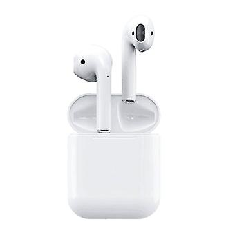 Stuff Certified® TWS i11 Wireless True Touch Control Earphones Bluetooth 5.0 Air Wireless Pods Earphones Earbuds White A+ Quality