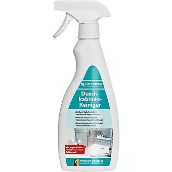 HOTREGA® shower cubiccleaner, 500 ml flat bottle