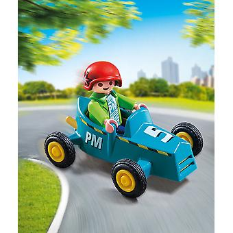 Playmobil 5382 Special Plus - Boy Figure with Go-Kart