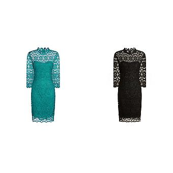 Paper Dolls Womens/Ladies Sequin Shimmer Lace Dress