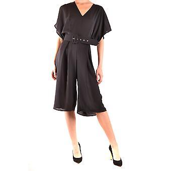 Hanita Ezbc433006 Damen's Schwarz Polyester Jumpsuit