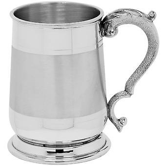 Kavalier Satinband Zinn Tankard - 1 Pint
