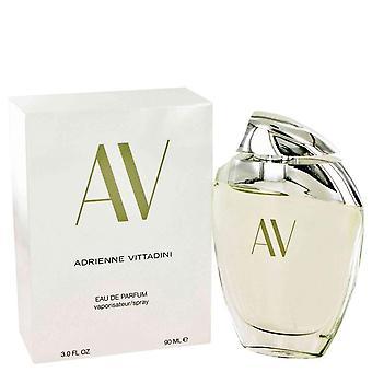Av Eau De Parfum Spray By Adrienne Vittadini 3 oz Eau De Parfum Spray