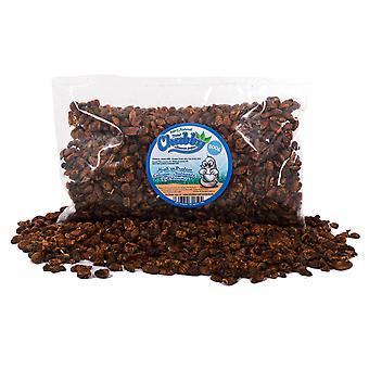 500g kuivattu pullea silkworm pupae
