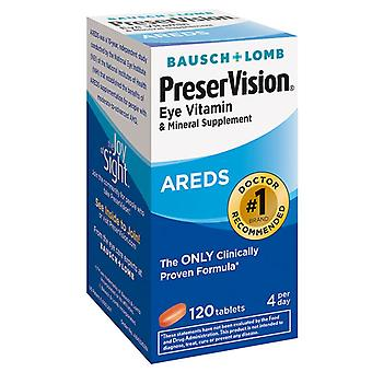 Preservision areds eye vitamin & mineral supplement, tablets, 120 ea