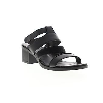 Camper Maude Womens Zwart Lederen Slingback Sandals Schoenen