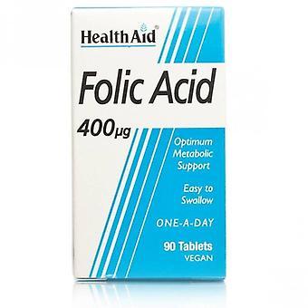 HealthAid Foolihappo 400ug tabletit 90 (801110)