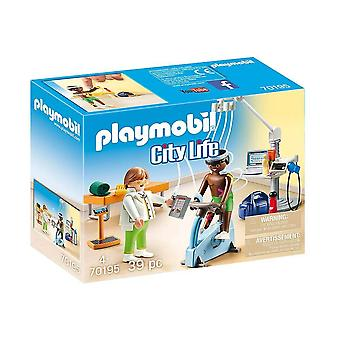 playmobil 70195 city life physical therapist playset 39pcs for ages 4 and above