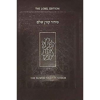 Koren Shalem Siddur with Tabs - Compact - Brown Leather by Jonathan S