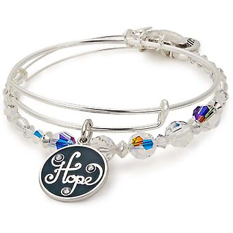 Alex And Ani Hope Beaded Charm Bracelet Set of 2 - A17SETHOL12SS