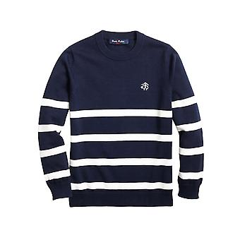 Brooks Brothers Boys' Round Neck Sweater With Stripes