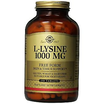 Solgar L-Lysine 1000 mg Tablets 250ct