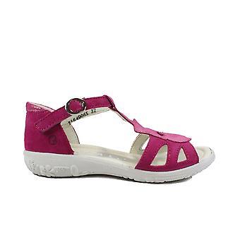 Ricosta Pippa 6423700-331 Vaaleanpunainen Mokka nahka tytöt T Bar Sandaalit