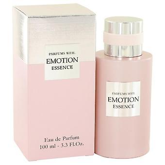 Emotion Essence Eau De Parfum Spray By Weil 3.3 oz Eau De Parfum Spray