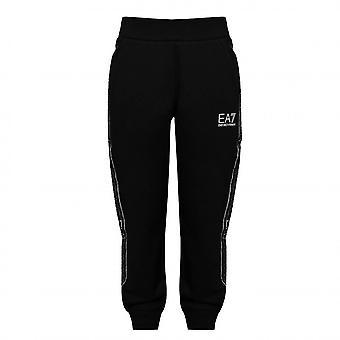 EA7 Boys EA7 Boy's Black Jogging Bottoms