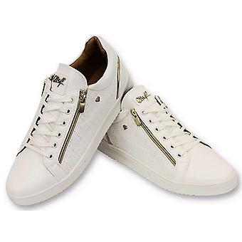 Shoes - Maya Full White - CMS97 - White