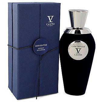 Cor Gentile V Extrait De Parfum Spray (Unisex) By Canto 3.38 oz Extrait De Parfum Spray
