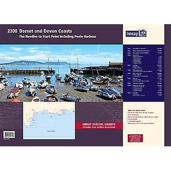 Imray 2300 Chart Atlas - Dorset and Devon Coasts Chart Pack by Imray -