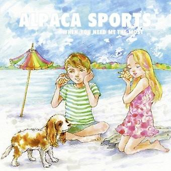 Alpaca Sports - When You Need Me the Most [Vinyl] USA import