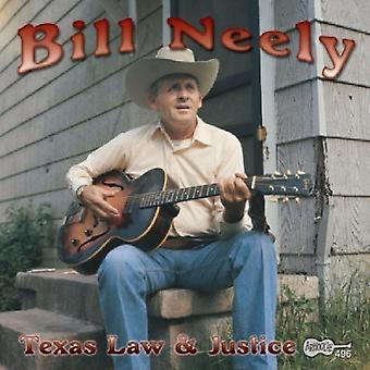 Bill Neely - Texas Law & Justice [CD] USA import