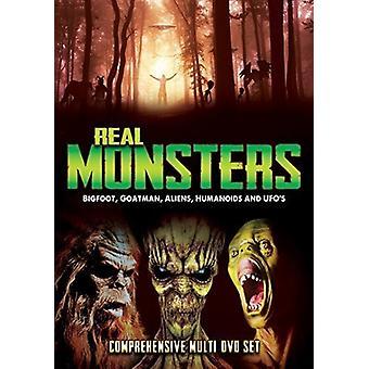 Real Monsters: Bigfoot Goatman Aliens Humanoids [DVD] USA import