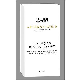 Higher Nature Aeterna Gold Collagen Creme Serum 50ml (AEC050)
