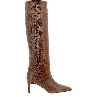 Paris Texas Px503xcsg2marrone Women's Brown Leather Boots