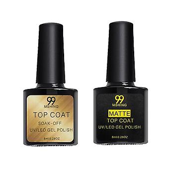 Nagellack Top Coat Base und Top Coat Lacke - Nagel Gel Primer lang anhaltend Soak Off Maniküre