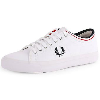 Fred Perry Men's Kendrick Tipped Cuff Canvas Trainers B5210-100