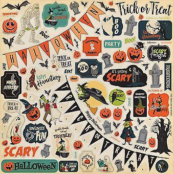 Carta Bella Happy Halloween 12x12 Inch Element Sticker