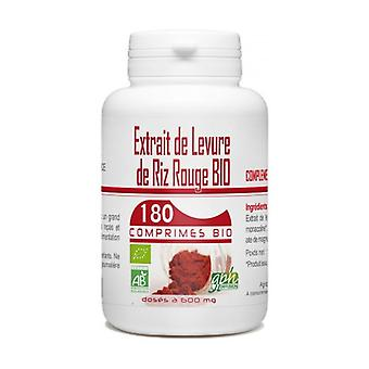 Organic Red Rice Yeast Extract 180 tablets