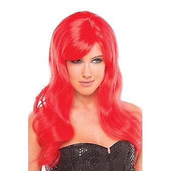 Perruque burlesque - Rouge