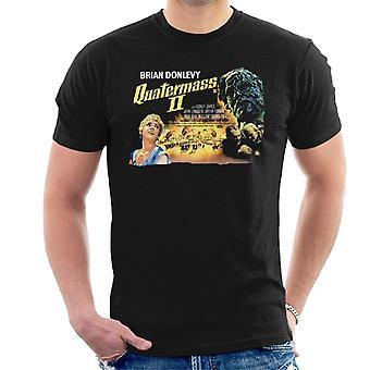 Hammer Horror Films Quatermass 2 Film Poster Uomini's T-Shirt
