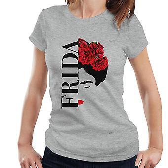 Frida Kahlo Flower Face Women's T-Shirt