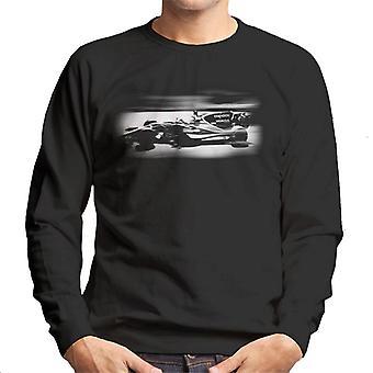 モータースポーツ画像 ジェンソン・バトン・マクラーレンMCL32モナコGPメン&アポス;sスウェットシャツ