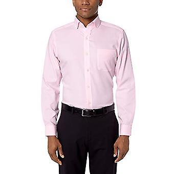 BUTTONED DOWN Miehet&s Tailored Fit Spread Collar Solid Ei-rauta mekko paita, Li...