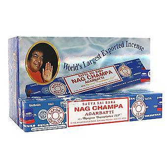 Satya Nag Champa Incense Sticks (Box Of 12 Packs)
