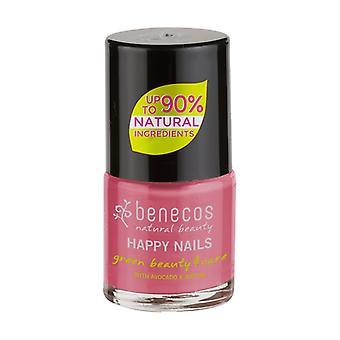 Candy pink nail polish (flamingo) 9 ml (Pink)